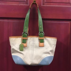 """Coach handbag 11x8x4"""" #L3J-4428"""